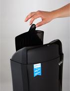 Lift-Flap Sanitary Bin