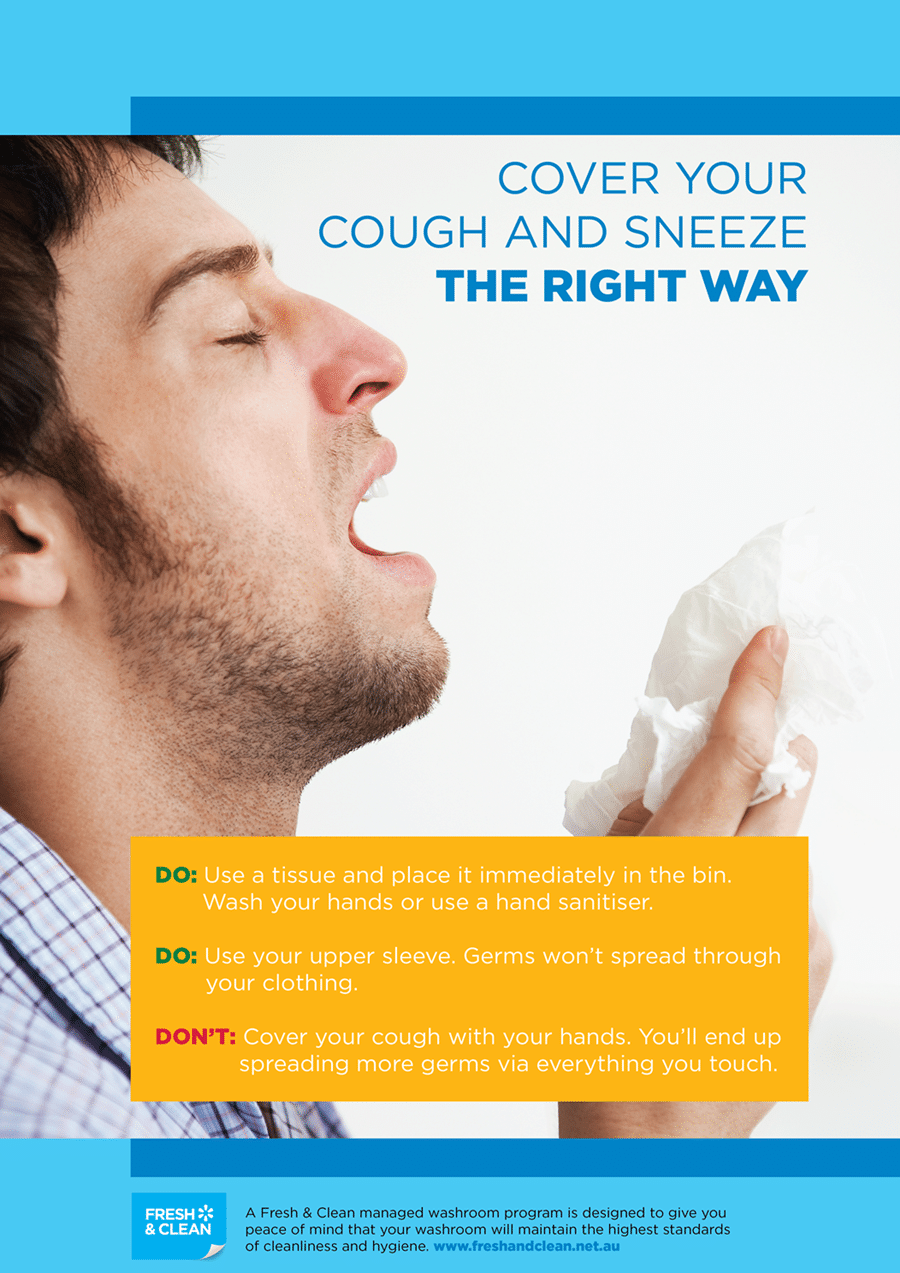 Workplace Hygiene Etiquette Posters - Fresh & Clean