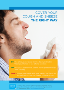 cough and sneeze poster