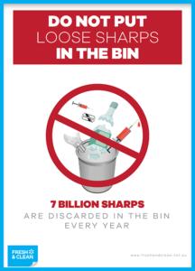 7 Billion Sharps Poster